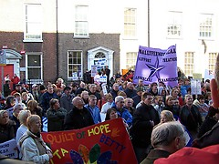 Feb 15th protest at Dail